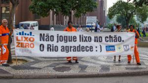 Concessionária Porto Novo promove Campanhia Lixo Zero